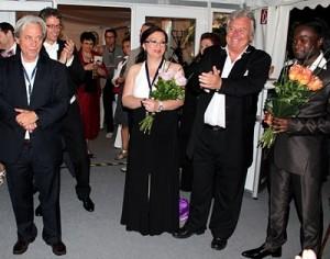 Credo 2011 Classic Open Air - Henri Seroka, Eva Nyakas, Serge Kakudji photo 002