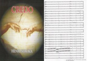 Shop - The full Score of CREDO